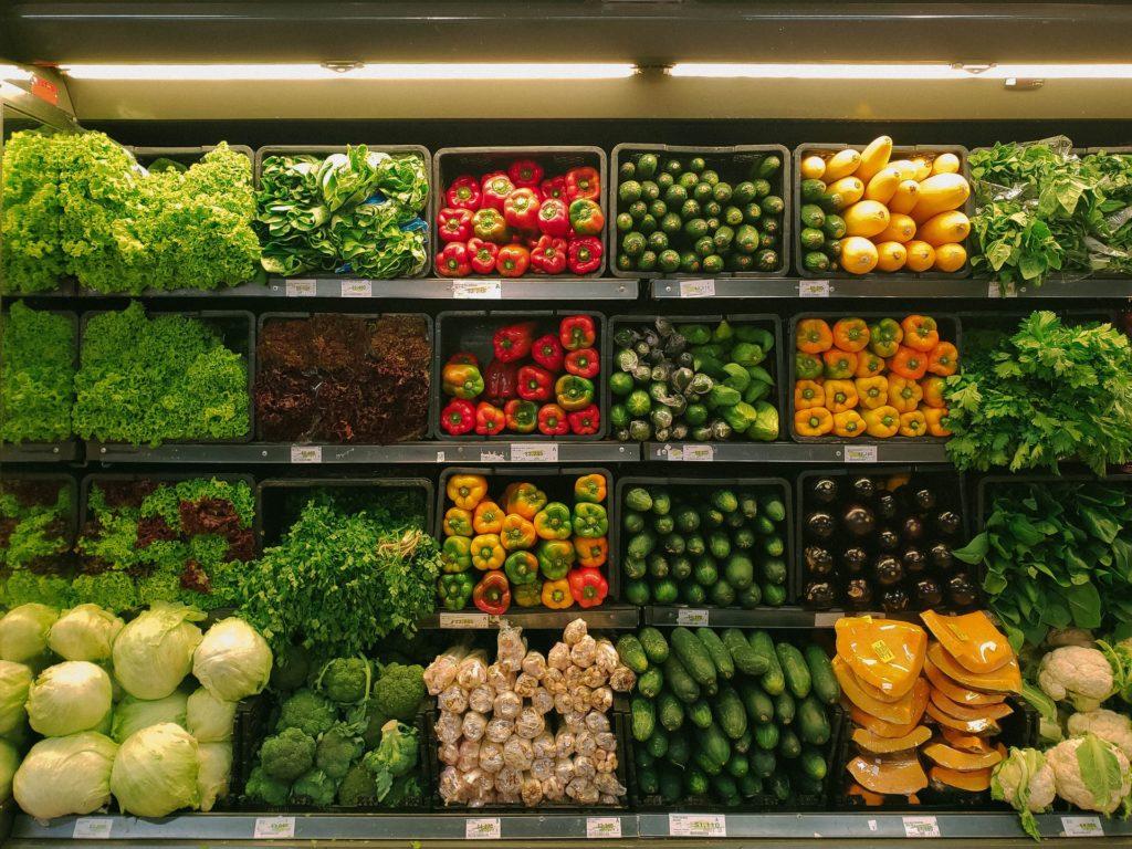VR w sklepie warzywnym